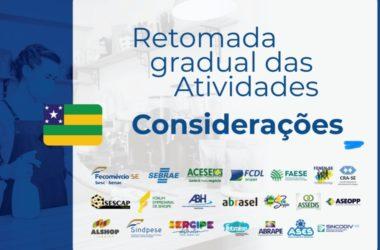 Entidades empresariais apresentam considerações para reabertura da economia ao governo